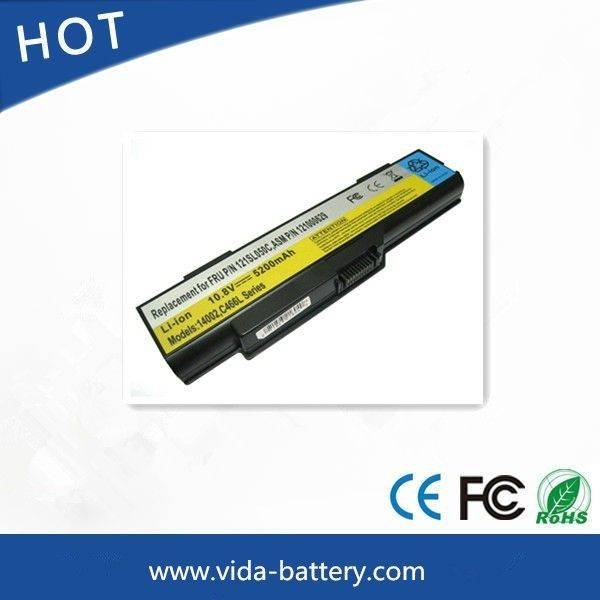 Rechargeable Laptop Battery for Lenovo G400 laptop power bank power supply