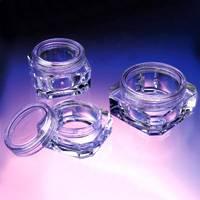 Plastic Octagonal Cosmetic Case