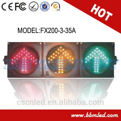 200mm arrow traffic signal light