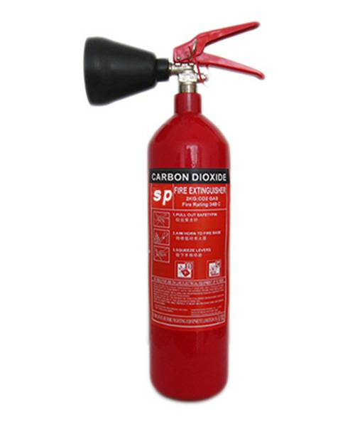 portable CE 2kg CO2 fire extinguisher