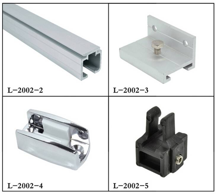 Sliding Door Accessories (5 Items Included, Can Sold Separately) L-2002