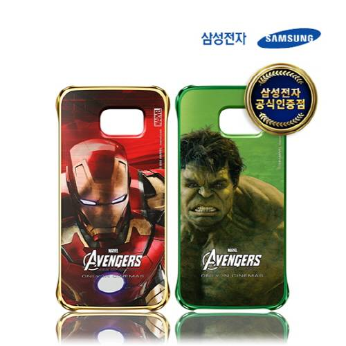 SAMSUNG Galaxy S6 Avengers Edition Clear Cover