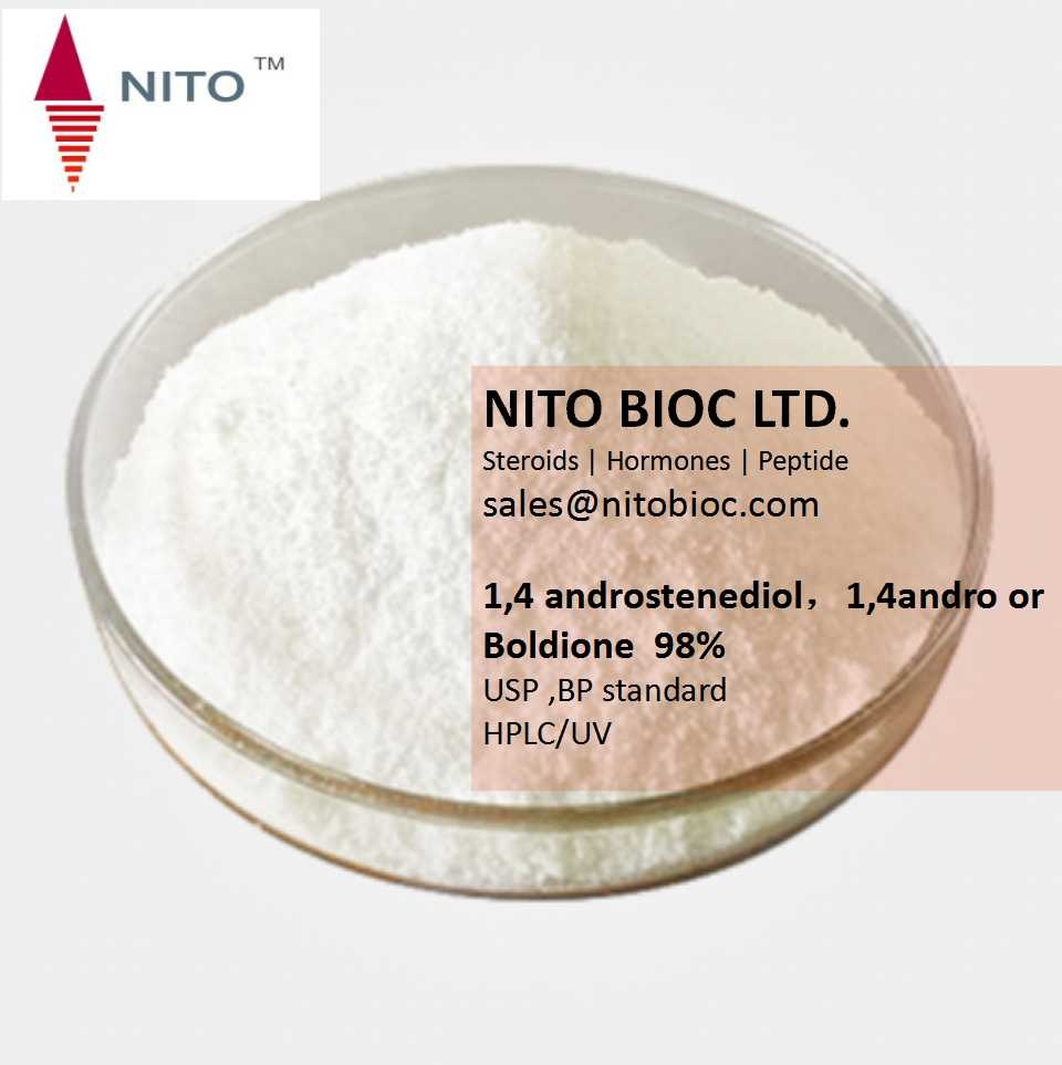 Factory Quality Control, Strong Intermediate Powder: 1,4 androstenediol,1,4andro or Boldione