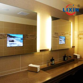 Waterproof LED Bathroom  Mirror TV  For Hotel