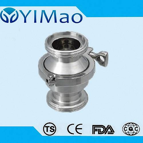 stainless steel sanitary check valve,sanitary swing check valve,Sanitary Union check valve