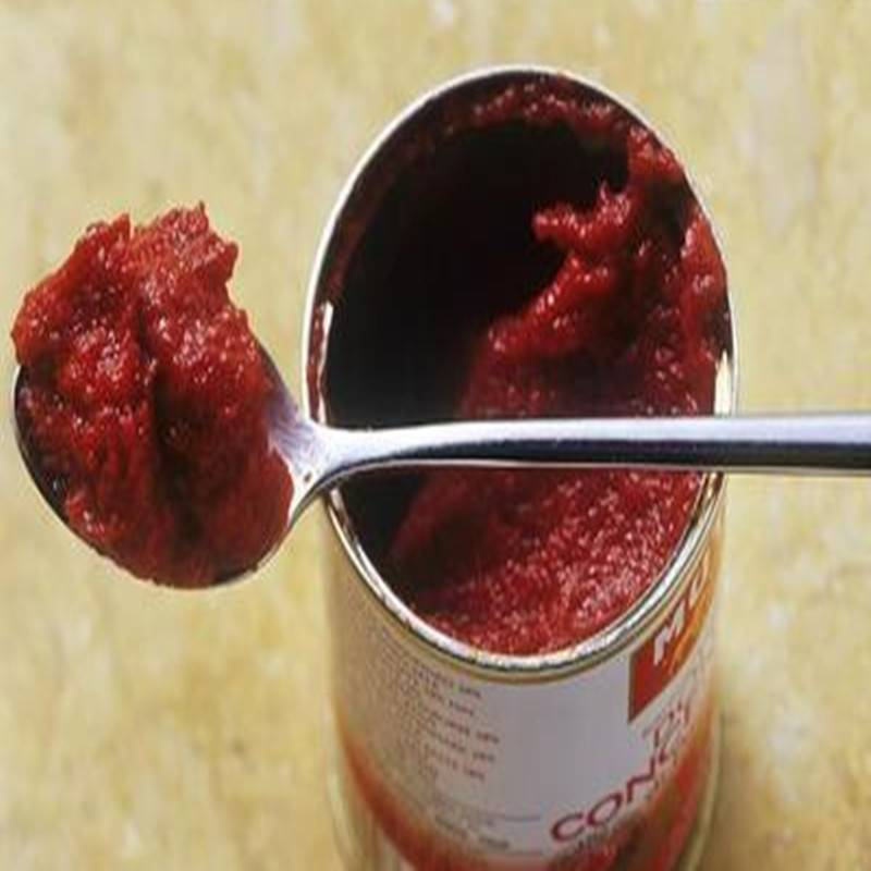 Tomato Paste Concentration: 22-24% / 28-30%, canned tomato paste