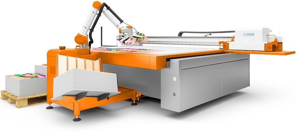 wood glass flatbed uv printer