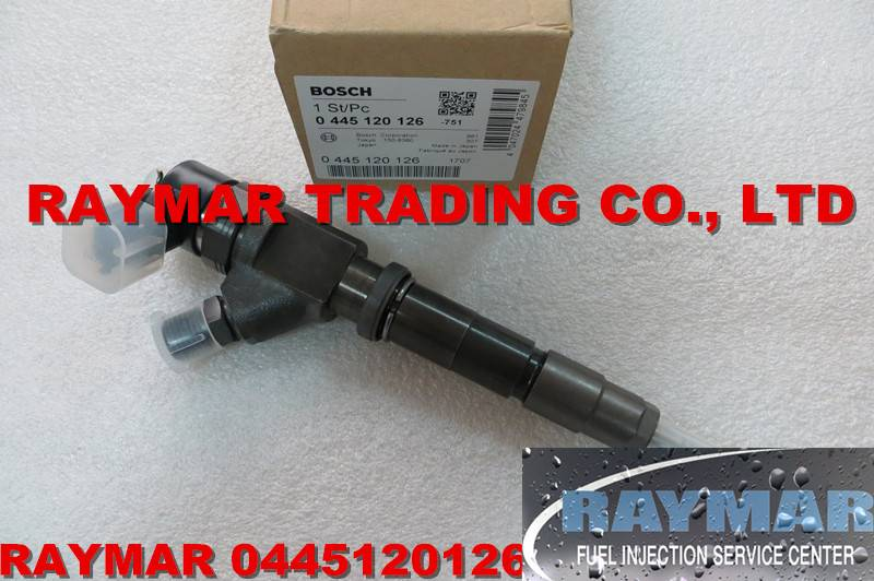 BOSCH common rail injector 0445120126 for KOBELCO SK130-8 SK140-8