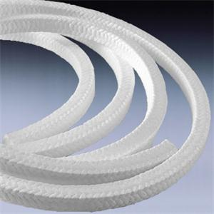White Ptfe Packing without oil feite sealing material