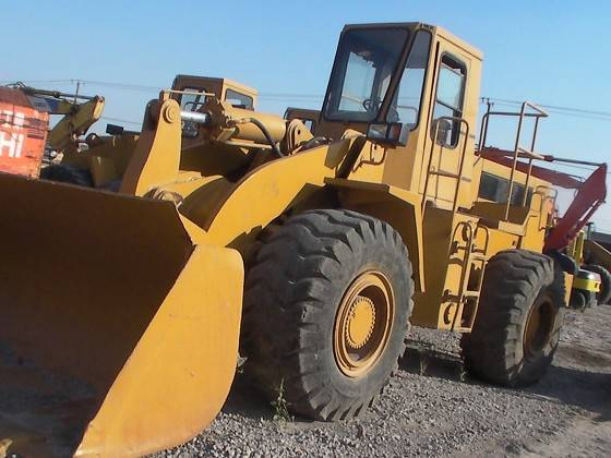 USED CATERPILLER WHEEL LOADER 966C/GOOD CONDITION