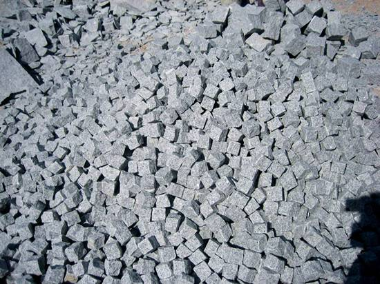 Granite G603 paving stone