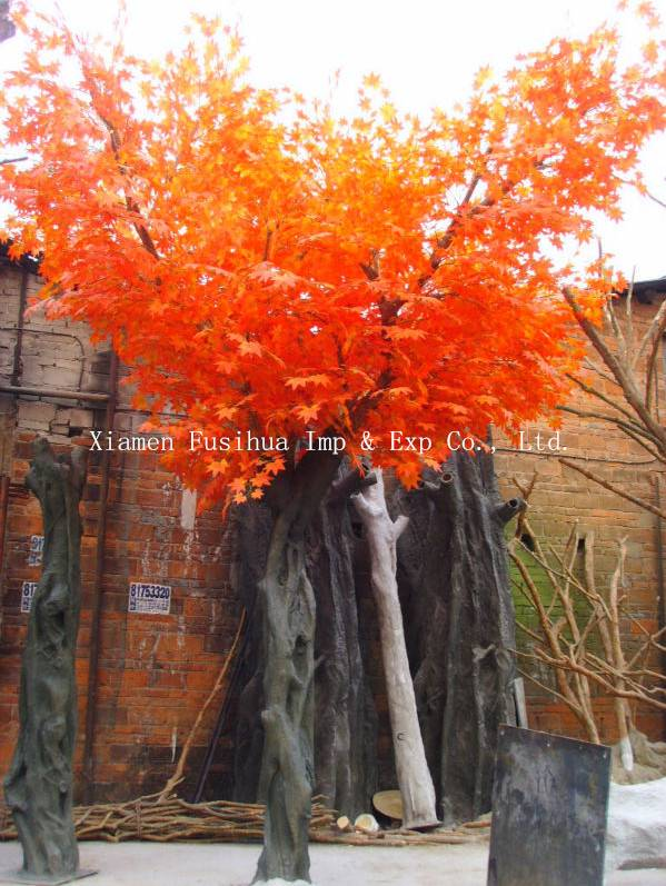 Artificial/Fake Maple Tree For Park Landscaping Decoration