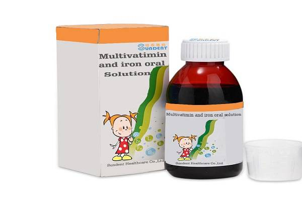 Multivatimin and iron oral solution