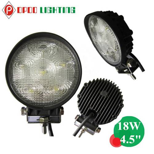 "Wholesale Offroad 4.5"" Round 18W Led Work Light"
