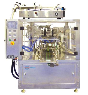 Automatic bag filling and sealing machine for liquid