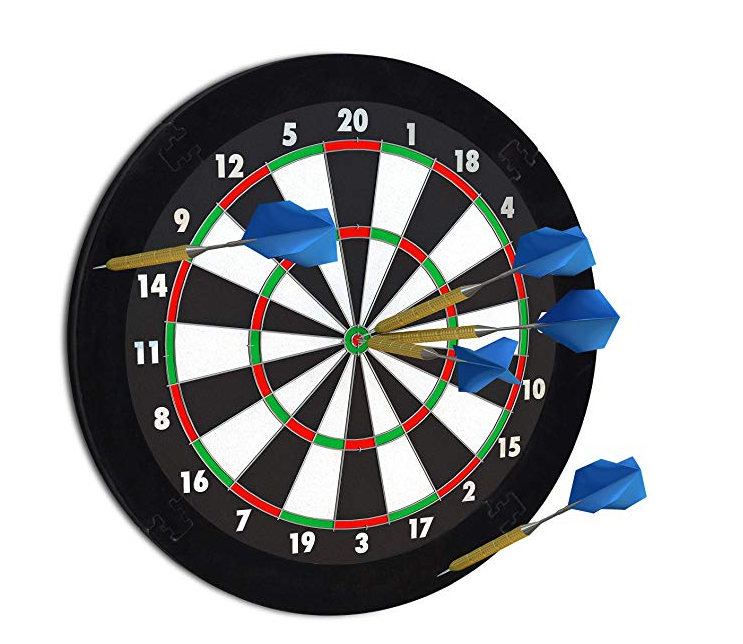 LOST WANDERER Surround darts protect darts backboard wall protection diameter 45 cm various colors