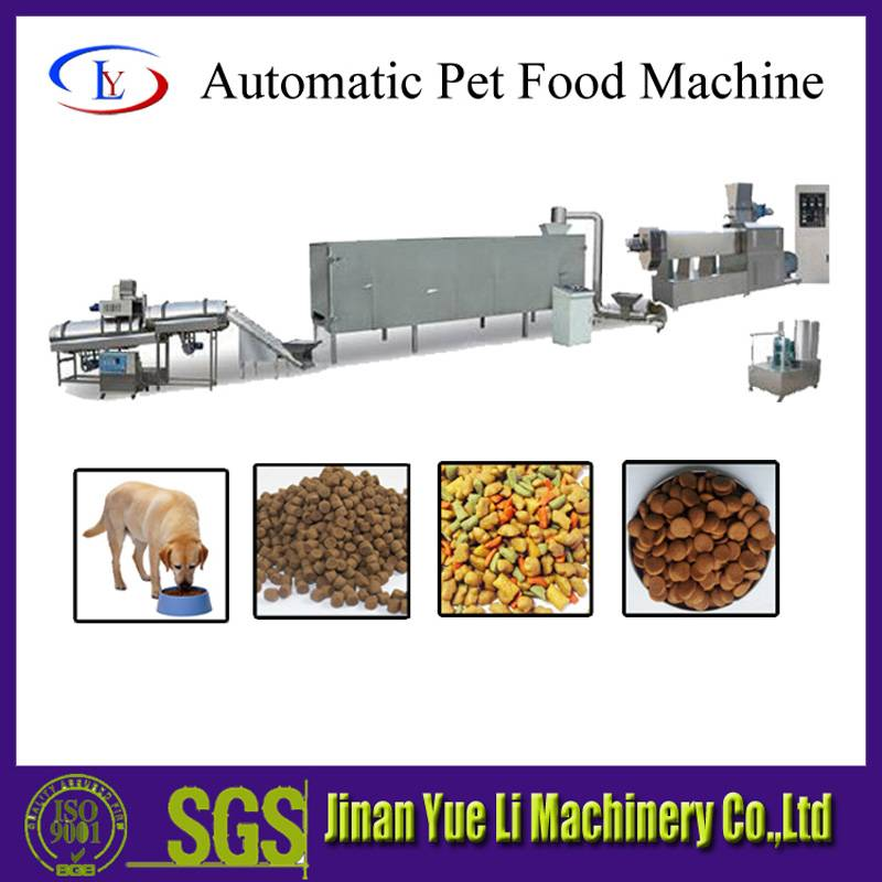 High-quality dog food processing line with SGS