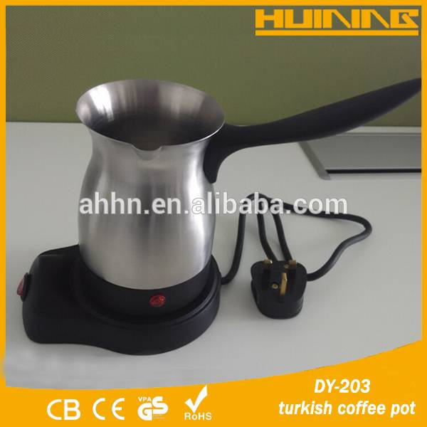 Electric stainless steel turkish coffee maker