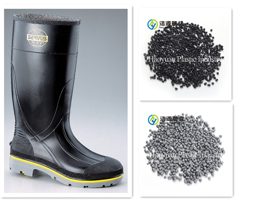100% Virgin PVC Compound for Safety Boots