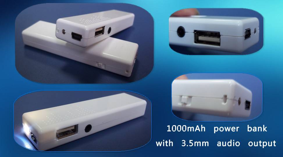 mobile supply power and portable battery