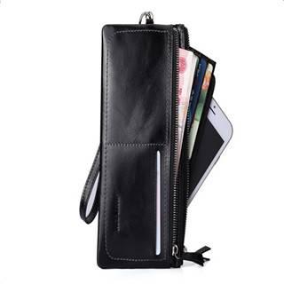 Hautton  Men's Wrist Strap Cowhide Leather Fashion Clutch Bag SZB76