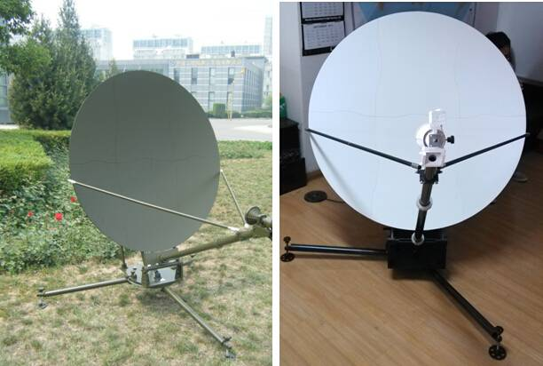 1.2m Flyaway Carbon Fiber antenna data sheet ( manual )