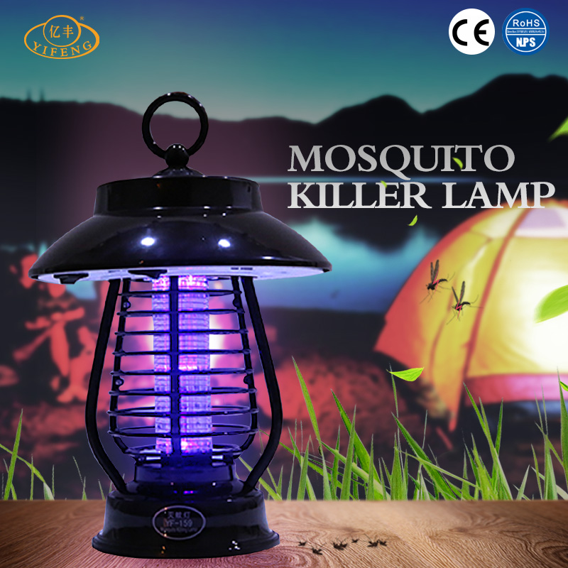 YiFeng YF-159 Multifunctional Solar Power Lamp Electric Kills Mosquito