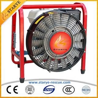 Fire Fighting Gasoline Engine Firefighting Smoke Ventilator
