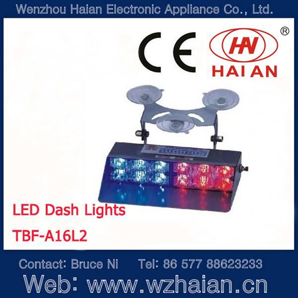 Led dash light for car interior use