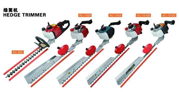 long pole easy operaton dual blade hedge trimmer pruning machine