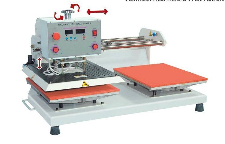 AM-1500 HP, Automatic Heat Transfer Press Machine