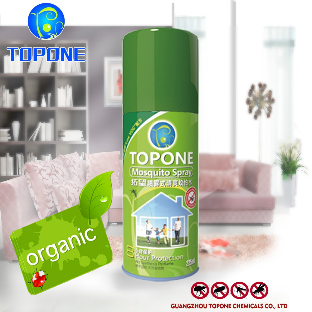 TOPONE New formula insecticide killer spray Obvious insecticidal effect gold Chinese supplier