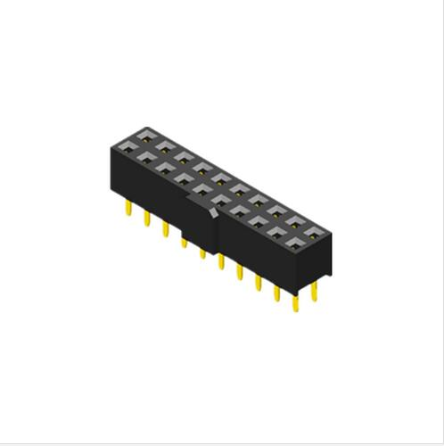 PCB connector rectangular connector 2.0mm pitch dip type U shape terminal female header