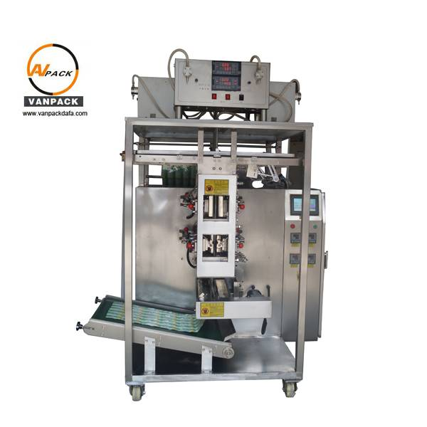 Liquid Multi Lane 4 Side Seals Sachet Packing Machine