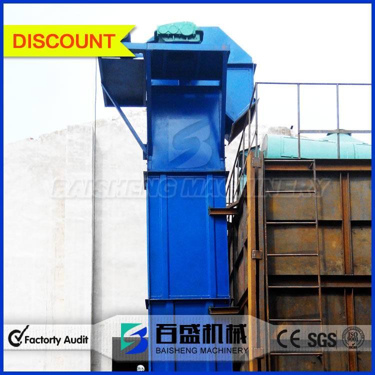 Baisheng Big Capacity Plate chain bucket Elevator