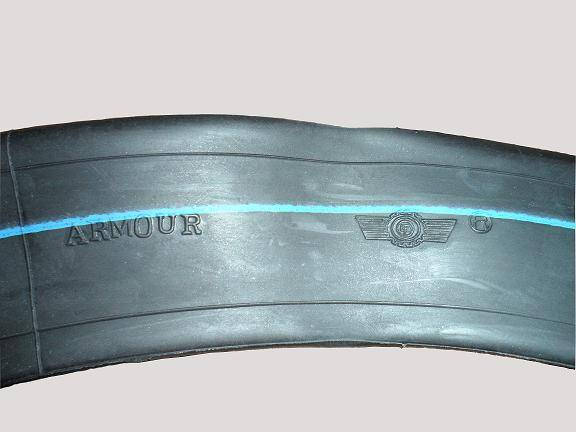 Armour motorcycle tube