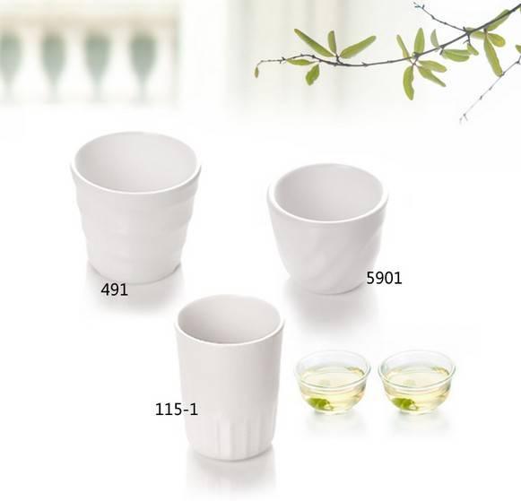 Fast food restaurant plastic melamine mug cup drinkware tableware hotel supplies