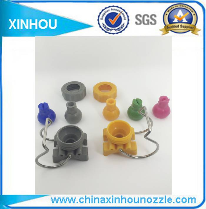 Pretreatment water spray pipe fittings adjustable clamp nozzle