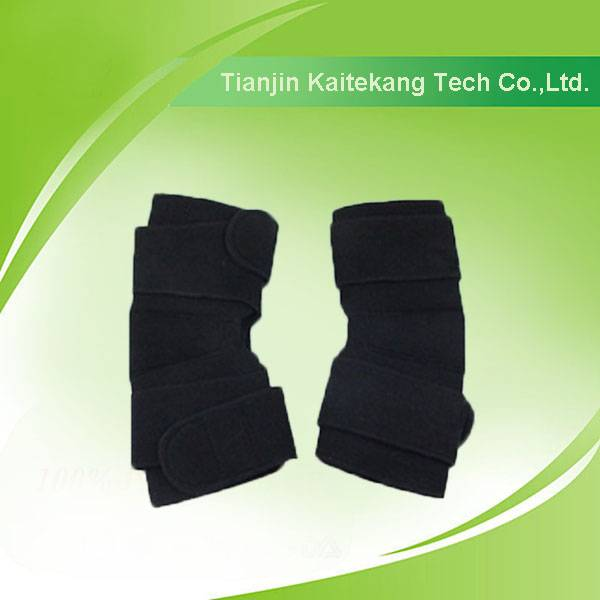 Tourmaline heated elastic knee braces