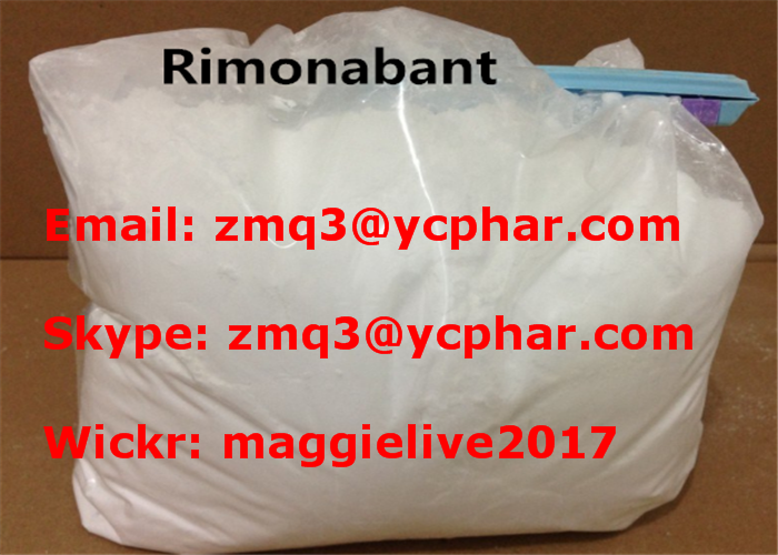 Rimonabant Steroids Raw Powder For Weight Loss USP Standard 168273-06-1