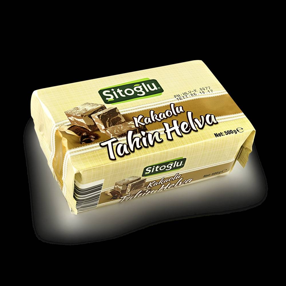 Cocoa Tahini Halva 500 gr