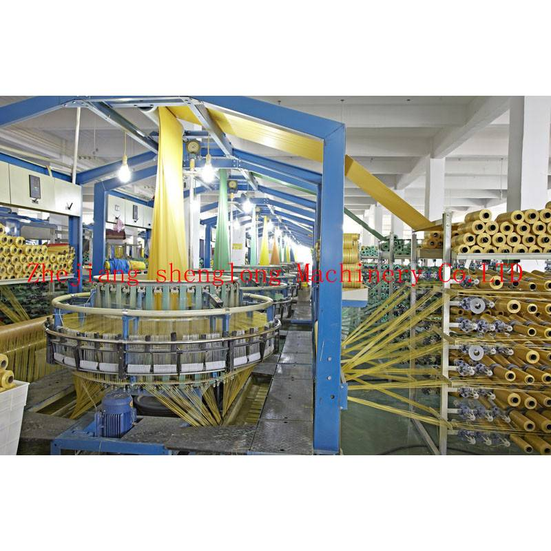 SL-WYD four shuttle mesh bag circular loom