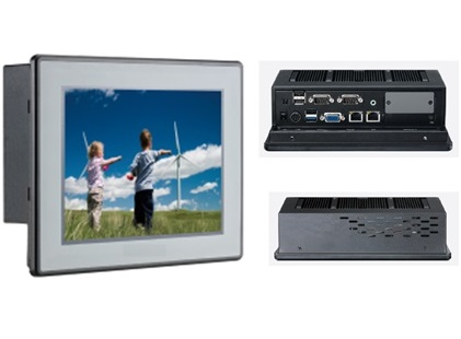 Fanless Industrial Touch Panel PC-WTPC 0840