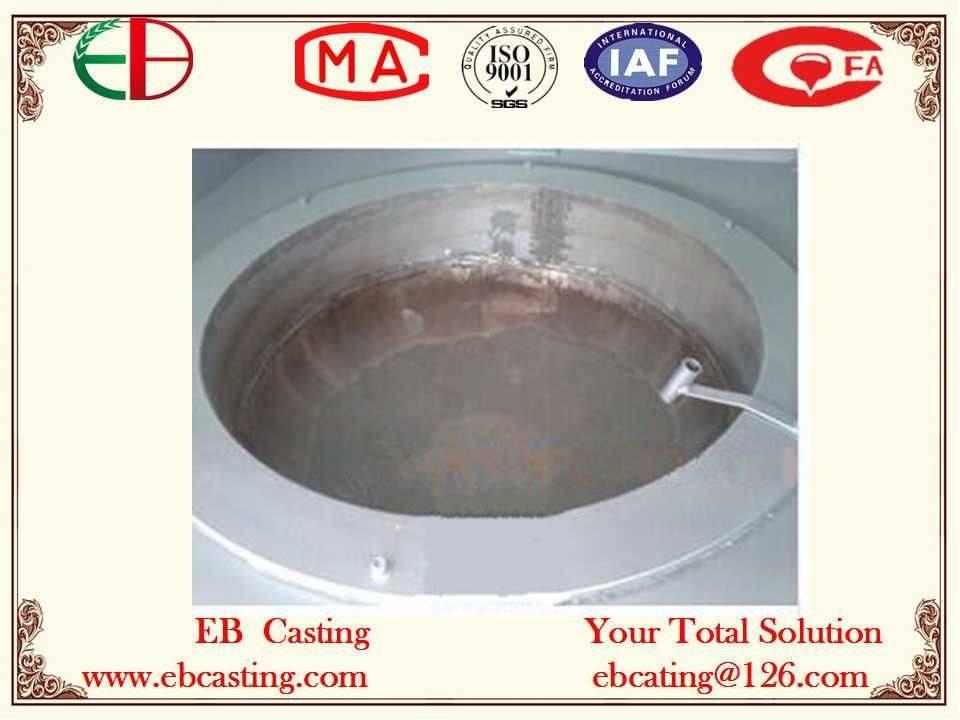 Melting Ti Metallics from Dross Separation EB4070