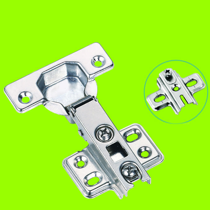 two way hinge cold rolled steel full-overlay hinges