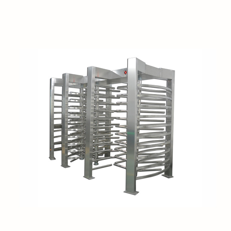 Automatic 90 degree 3 channel full height turnstiles gate