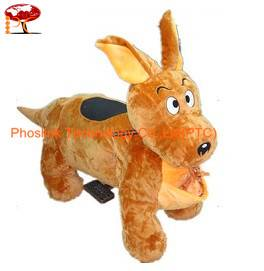 Coin Operated Rabbit Walking Animal rides for Kids in Garden and Outside PTC-WK02