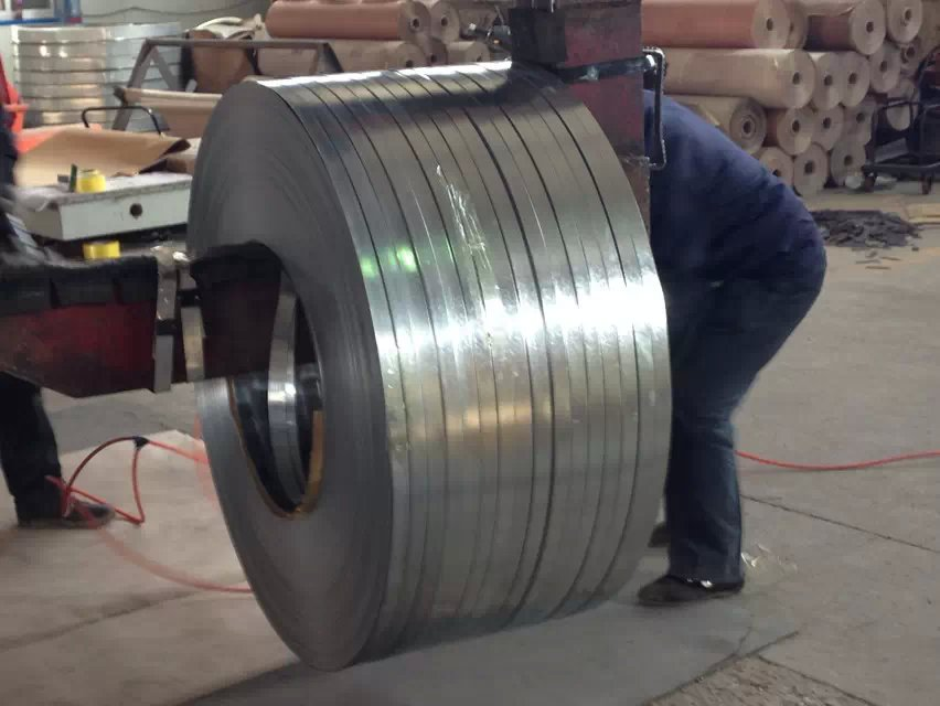 zinc coated hot dipped galvanized steel strip/GI strip
