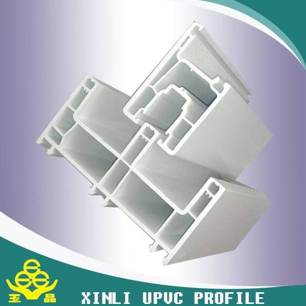plastic building materials upvc profile for windows and doors