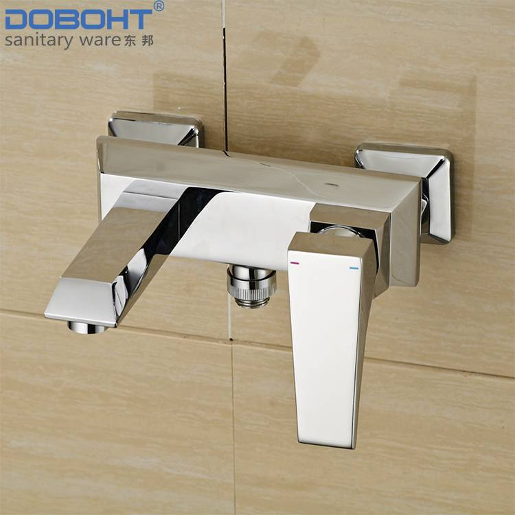doboht sanitaryware brass single handle chrome bathroom shower faucet mixer
